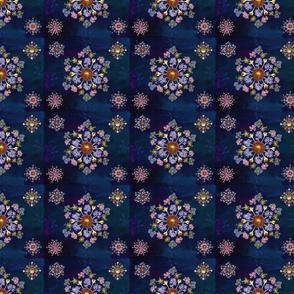 Midnight Garden mandala