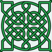 Celtic Knot (39 crossings) - 2 inch