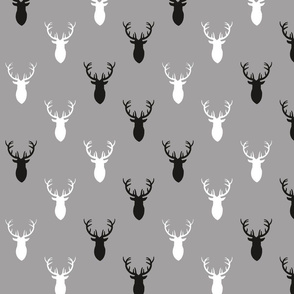 Black_and_White_and_Gray_Deer