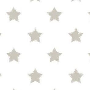 Gray_Stars_on_White_background