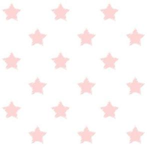 Pink_Stars_on_White_background