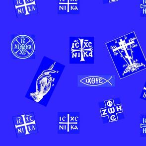 Orthodox Symbols (giant & clean)