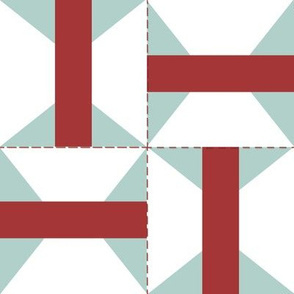Arkansas Traveler Patchwork Design