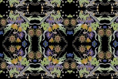 Les Fleurs fabric by mypetalpress on Spoonflower - custom fabric