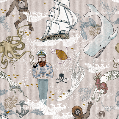 Cephalopods + Old Sea Dogs (LARGE)