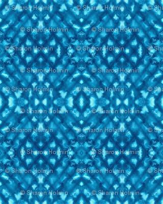 Shibori Diamonds Deep Blue