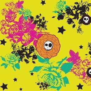 Skulls & Flowers