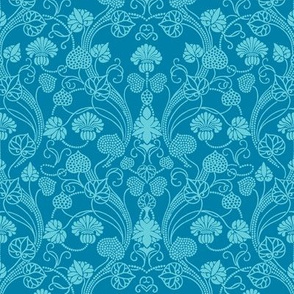 lotus damask carribean