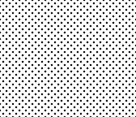 20_Polka_Lg_Bk_Wh fabric by kds_designs on Spoonflower - custom fabric