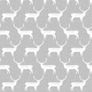 Reindeer - Slate Linen by Andrea Lauren