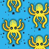 Yellow Octopus Confetti
