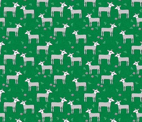 Rreindeer_kelly_green_linen_shop_preview