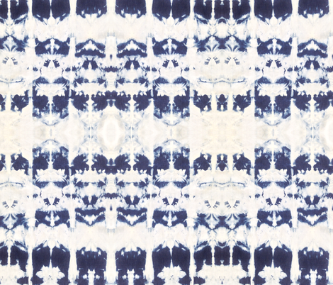 INDIGO 0986 | Michelle Mathis fabric by michellemathis on Spoonflower - custom fabric