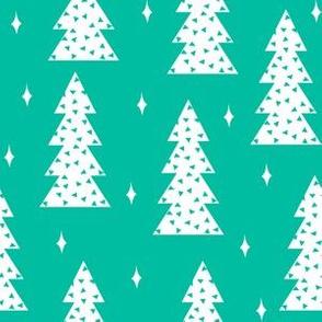 christmas tree // christmas tree fabric holiday xmas tree green fabric andrea lauren