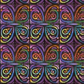 Purple Butterfly Entwine