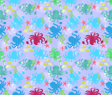 Celephodes fabric by lanrete58 on Spoonflower - custom fabric