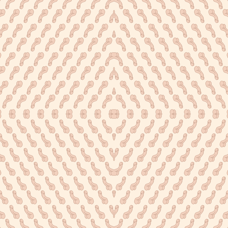 Repeating Penis In Cream Wallpaper Joanandrose Spoonflower