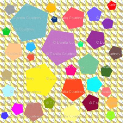 Dean's Colorful Pentagons