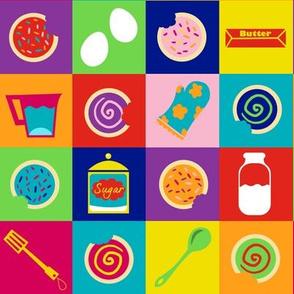 Pop Art Cookies