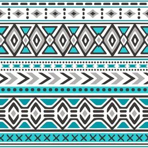 Tribal Aztec Rows
