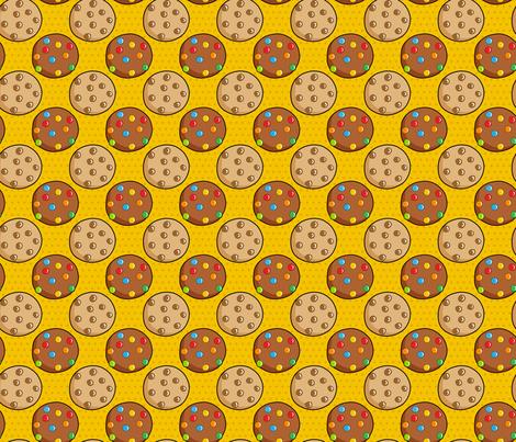 Pop Art: Cookies fabric by mia_valdez on Spoonflower - custom fabric