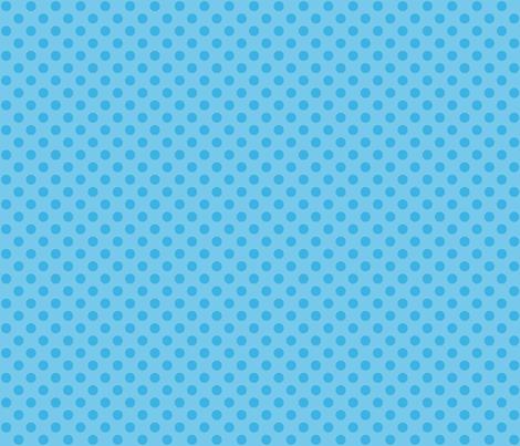 Sky Blue Polka Dots fabric by mia_valdez on Spoonflower - custom fabric
