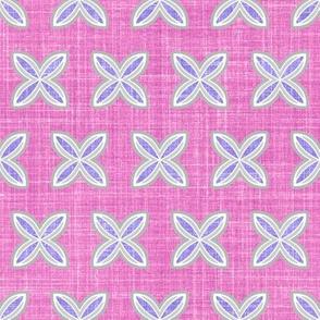Faux Linen cuatro lilac