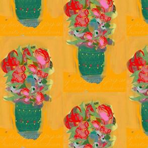 mexican rose pots