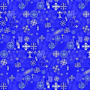 Orthodox Symbols (Small & Busy)