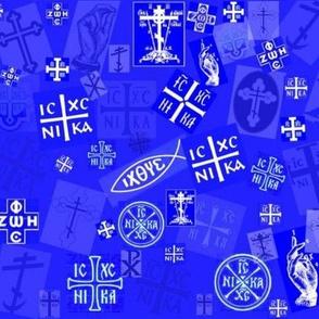 Orthodox Symbols (Medium & Busy)
