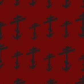 Orthodox_Cross - Stylized-Red/Black-ed-ch-ch