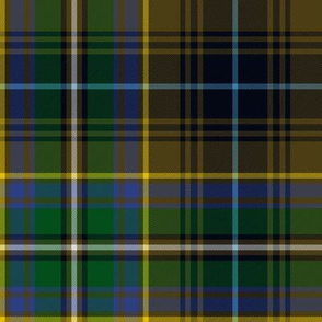 """Innes brown hunting tartan, 8"""""""