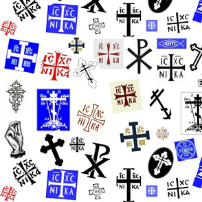 Orthodox Symbols - Medium Color
