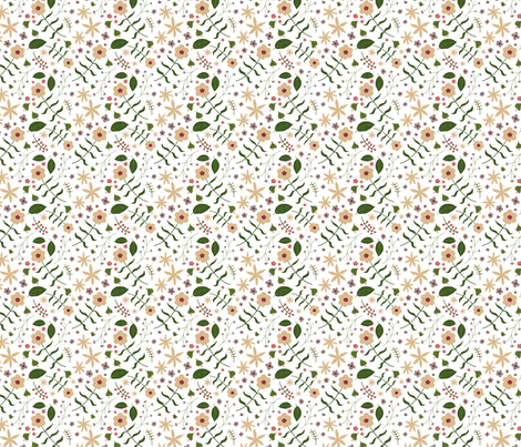 Laura white two fabric by lenazembrowskij on Spoonflower - custom fabric