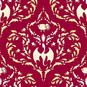 Wayward Baroque Red Large