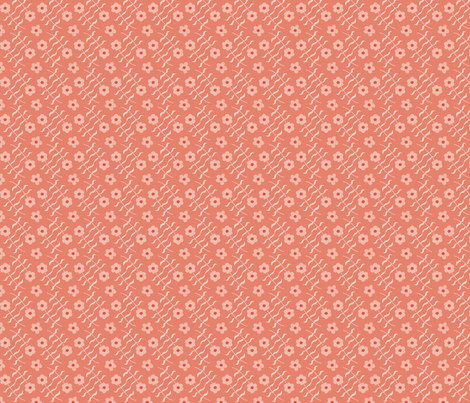 Laura solid rose fabric by lenazembrowskij on Spoonflower - custom fabric