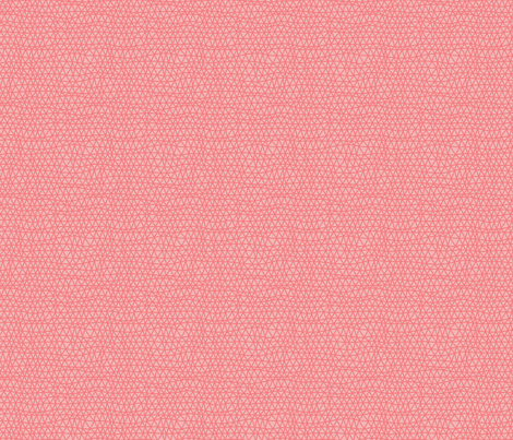 Folky Dokey-Woven in Coral-Adventure colorway fabric by groovity on Spoonflower - custom fabric