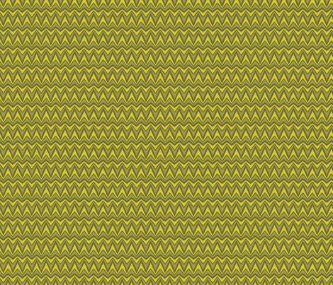 Folky Dokey-Bargello in Moss-Believe colorway fabric by groovity on Spoonflower - custom fabric