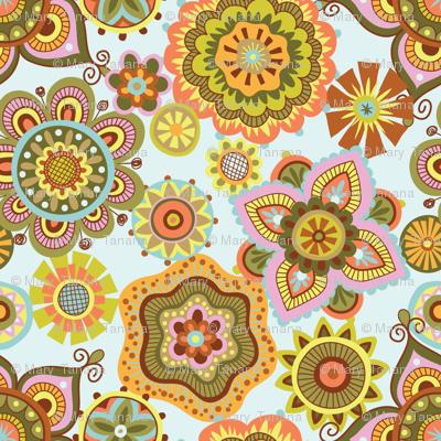 Folky Dokey-Boho-Believe colorway