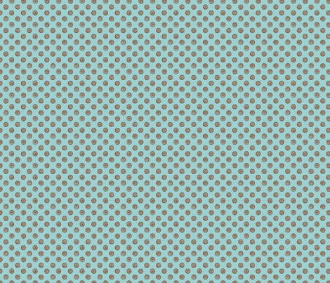 Folky Dokey-Spirals in Air-Believe colorway fabric by groovity on Spoonflower - custom fabric