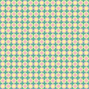 CurlyPops - Retro Flowers in Pastel