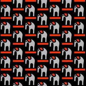 Gray Elephants Red Ear