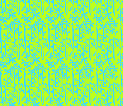 Manroves__blue_green fabric by malolo on Spoonflower - custom fabric