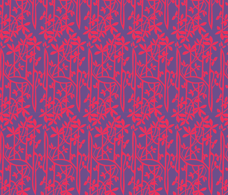 Mangroves_red_purple fabric by malolo on Spoonflower - custom fabric