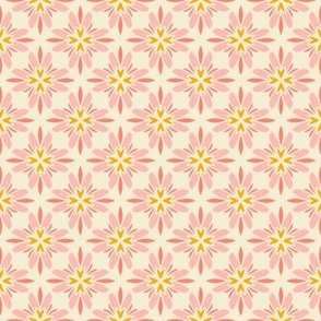 Floral Patchwork Cream