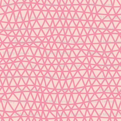 Folky Dokey-Woven in Blush-Celebrate colorway