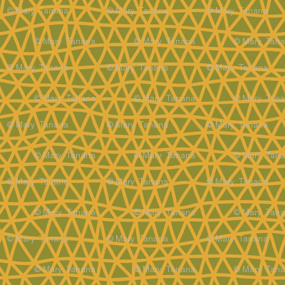 Folky Dokey-Woven in Marigold-Celebrate colorway