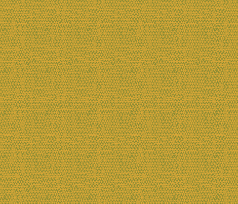 Folky Dokey-Woven in Marigold-Celebrate colorway fabric by groovity on Spoonflower - custom fabric
