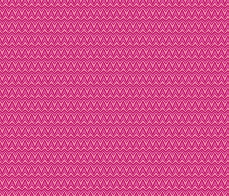 Folky Dokey-Bargello in Pink-Dream colorway fabric by groovity on Spoonflower - custom fabric