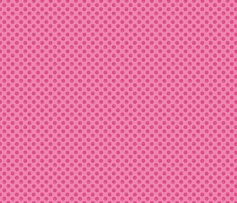 Folky Dokey-Spirals in Pink-Dream colorway fabric by groovity on Spoonflower - custom fabric